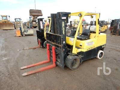 2007 HYSTER S120FT 11150 Lb Forklift