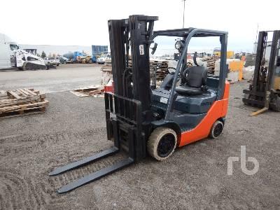 2008 TOYOTA 8FGCU25 3850 Lb Forklift