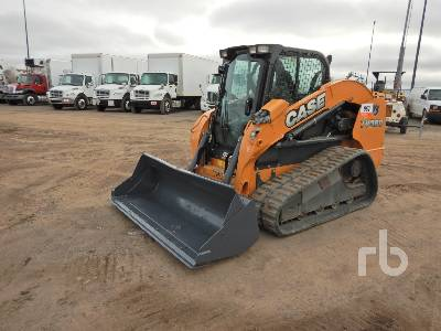 2014 CASE TV380 2 Spd High Flow Compact Track Loader