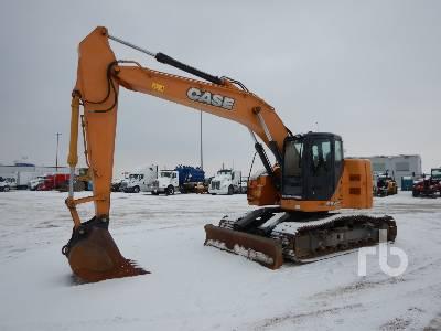 2014 CASE CX225SR Hydraulic Excavator