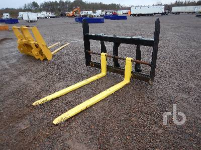 CRAIG Q/C 60 In. Wheel Loader Forks