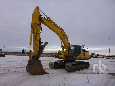 2014 KOMATSU PC360LC-10 Hydraulic Excavator