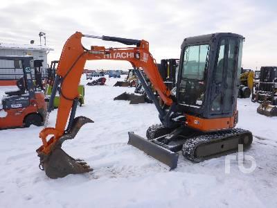2012 HITACHI ZX27U-3 Mini Excavator (1 - 4.9 Tons)