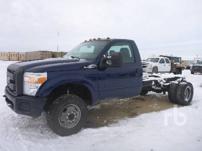 2012 FORD F350 XL 4x4 Cab & Chassis
