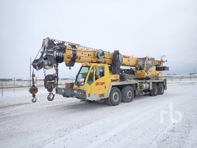 2010 GROVE TMS9000E 110 Ton 8x4x4 Hydraulic Truck Crane