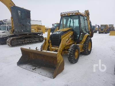 2003 CATERPILLAR 420DIT 4x4 Loader Backhoe