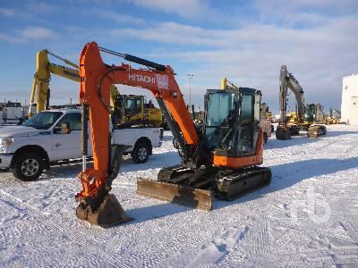 2015 HITACHI ZX60USB-5N Midi Excavator (5 - 9.9 Tons)