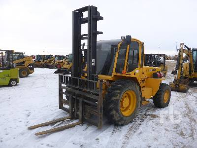 2011 SELLICK S80 4x4 Rough Terrain Forklift