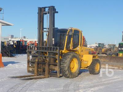 2011 SELLICK S120 4x4 Rough Terrain Forklift
