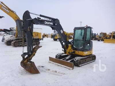 2012 JOHN DEERE 60D Mini Excavator (1 - 4.9 Tons)