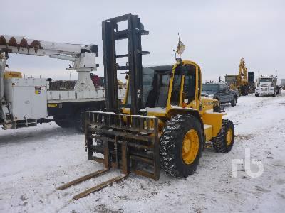 2012 SELLICK S80 Rough Terrain Forklift