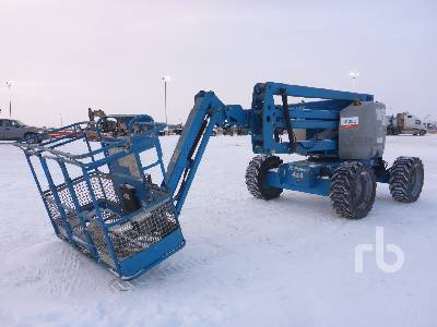 2007 GENIE Z45/25 4x4 Articulated Boom Lift