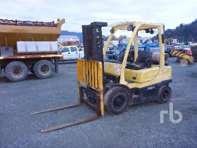 2006 HYSTER H50FT 4750 Lb Forklift