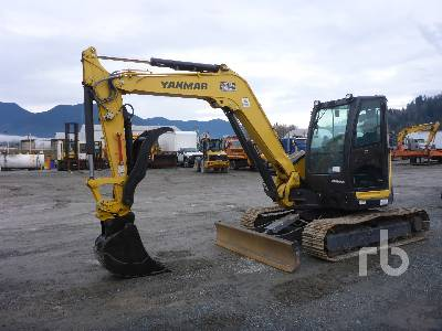 2018 YANMAR VIO80-A1 Midi Excavator (5 - 9.9 Tons)