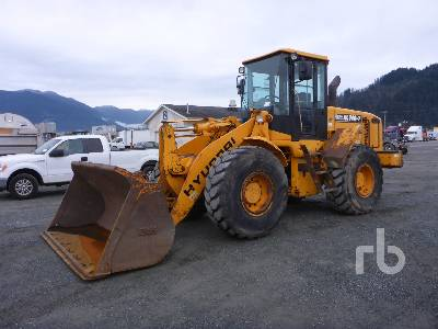 2005 HYUNDAI HL740-7 Wheel Loader