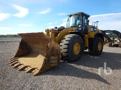 Caterpillar 980M Wheel Loader Specs & Dimensions :: RitchieSpecs