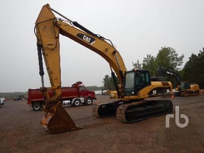Caterpillar 330D L Hydraulic Excavator Specs & Dimensions