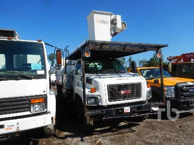 2008 GMC C7500 w/Altec LRV60E70 Bucket Truck Parts