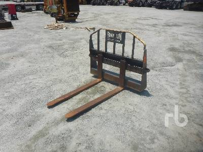 FANKLIN 48 In  Skid Steer Forks Lot #5628   Ritchie Bros