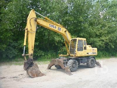John Deere 210CW Mobile Excavator Specs & Dimensions :: RitchieSpecs