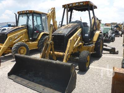 Caterpillar 416D Loader Backhoe Specs & Dimensions :: RitchieSpecs