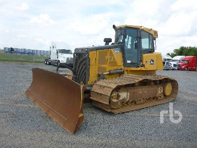 John Deere 450D Crawler Tractor Specs & Dimensions