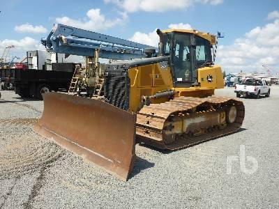 John Deere 450E/6415 Crawler Tractor Specs & Dimensions