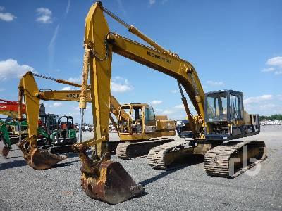 Komatsu PC200-7 Hydraulic Excavator Specs & Dimensions