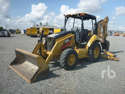 Caterpillar 416E Loader Backhoe Specs & Dimensions :: RitchieSpecs