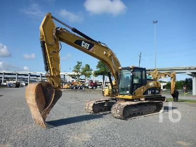 Caterpillar 320D LRR Hydraulic Excavator Specs & Dimensions