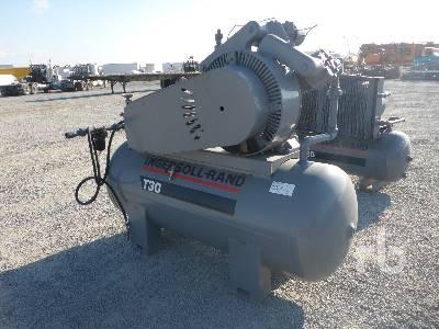 INGERSOLL-RAND 20T2 Electric Shop Air Compressor   Ritchie