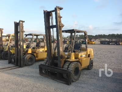 Caterpillar C6000 Forklift Specs & Dimensions :: RitchieSpecs