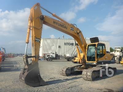 Hyundai R140LC-7 Hydraulic Excavator Specs & Dimensions