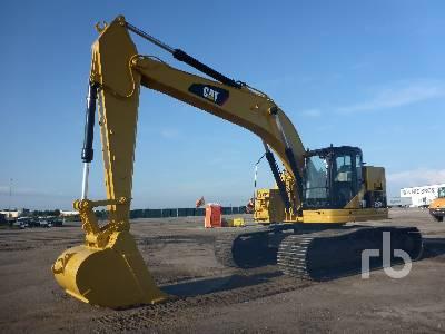 Caterpillar 328D LCR Hydraulic Excavator Specs & Dimensions
