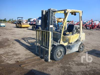 Hyster H50FT Gas Forklift Specs & Dimensions :: RitchieSpecs