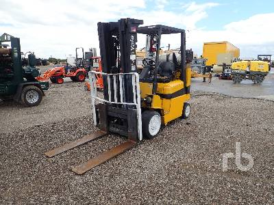Yale ERC 30 AGF (SWB) Forklift Specs & Dimensions