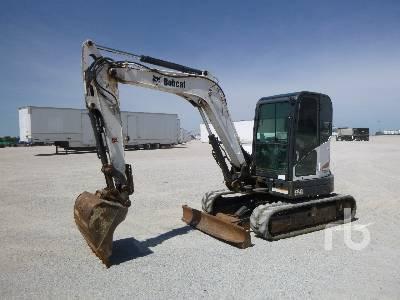 Bobcat E55 Mini Excavator Specs & Dimensions :: RitchieSpecs