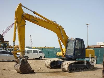 Komatsu PC200-6 CUSTOM Hydraulic Excavator Specs