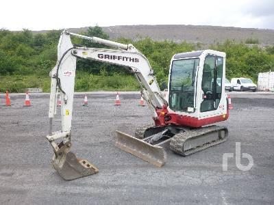 Takeuchi TB235 Mini Excavator Specs & Dimensions :: RitchieSpecs