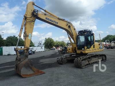 Komatsu PC200-8 Hydraulic Excavator Specs & Dimensions :: RitchieSpecs