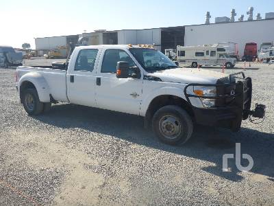 2011 Ford F350 Xl Crew Cab 4x4 Dually Pickup Ritchie Bros Auctioneers
