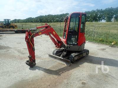 2013 YANMAR VIO20-4 Mini Excavator Parts/Stationary Construction