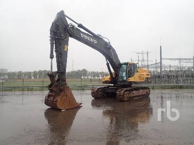 Volvo EC480D Hydraulic Excavator Specs & Dimensions
