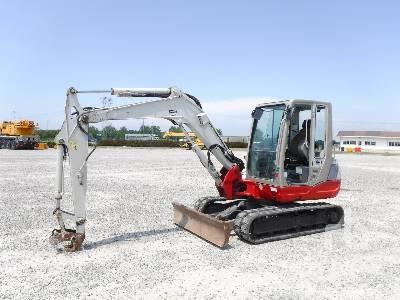 Takeuchi TB025 Mini Excavator Specs & Dimensions :: RitchieSpecs
