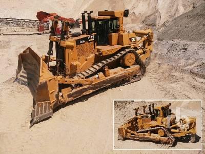 Caterpillar D10R Crawler Tractor Specs & Dimensions