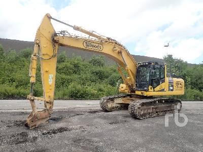 Komatsu PC360LC-10 Hydraulic Excavator Specs & Dimensions