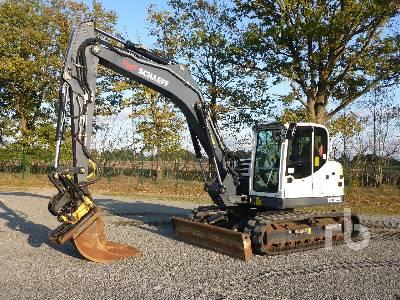 2017 TEREX TC125 Midi Excavator (5 - 9.9 Tons)