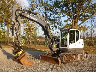 2014 TEREX TC125 Midi Excavator (5 - 9.9 Tons)