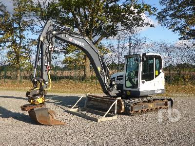 2016 TEREX TC85 Midi Excavator (5 - 9.9 Tons)