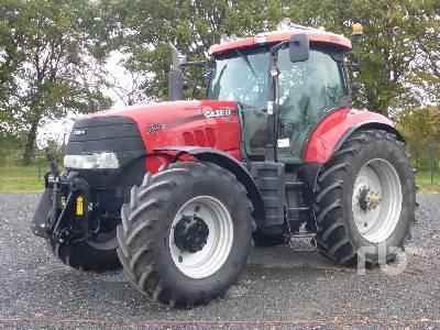 2010 CASE IH PUMA CVX225 MFWD Tractor